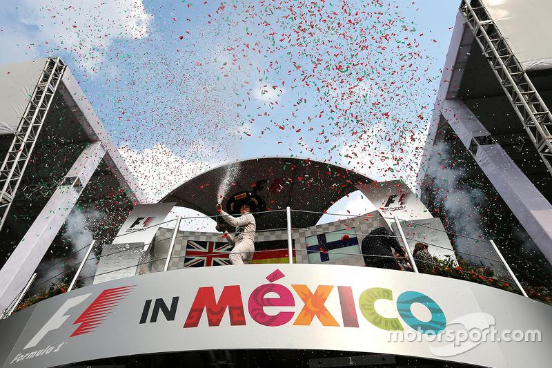 Podium: 1. Nico Rosberg, Mercedes AMG F1 W06