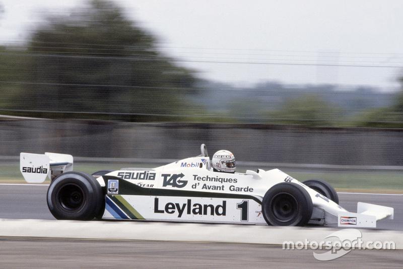 1984: Алан Джонс (возвращение в Ф1 в составе Lola-Haas)