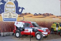 Red Line Off-Road Team, Mundo Dakar event: Red Line Off-Road Team Mitsubishi Pajero