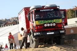 Team Tanqueluz, Mundo Dakar event: the service track