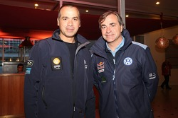 Carlos Sousa and Carlos Sainz