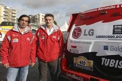 Nuno Inocencio and Jaime Santos