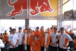 KTM team members