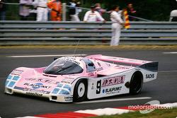 #9 Jöst Racing Porsche 962 C: Hans Stuck, Bob Wollek
