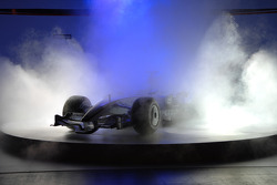 The new BMW Sauber F1.08 is presented