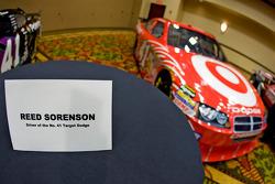 Chip Ganassi Racing with Felix Sabates: Dodge NASCAR Sprint Cup car of Reed Sorenson
