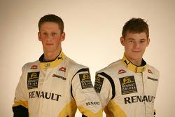Romain Grosjean and Ben Hanley