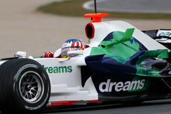 Alexander Wurz, Test Pilotu, Honda Racing F1 Team, RA108