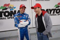 Patrick Carpentier and Jacques Villeneuve