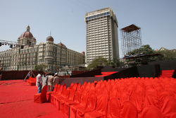 Force India F1 Team livery launch preparations