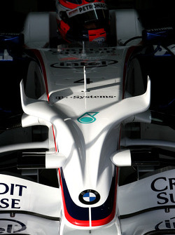 Robert Kubica,  BMW Sauber F1 Team, detail