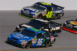 J.J. Yeley, Mark Martin and Jimmie Johnson