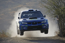 Chris Atkinson y Stéphane Prévot, Subaru World Rally Team, Subaru Impreza WRC2007