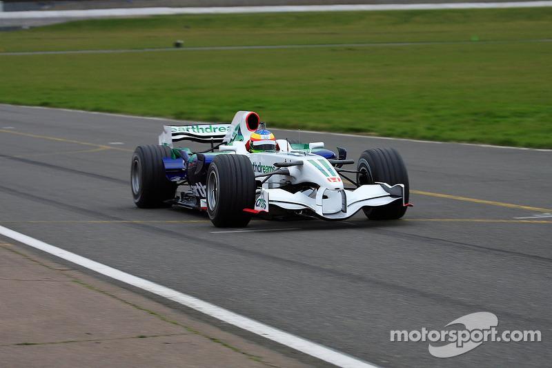 Honda World Conway >> Mike Conway, Honda Racing F1 Team, RA108 at Silverstone March testing