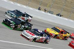 David Ragan, Denny Hamlin and Dale Earnhardt Jr.