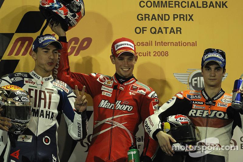 Lorenzos erster MotoGP-Auftritt