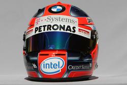 Robert Kubica,  BMW Sauber F1 Team, helmet