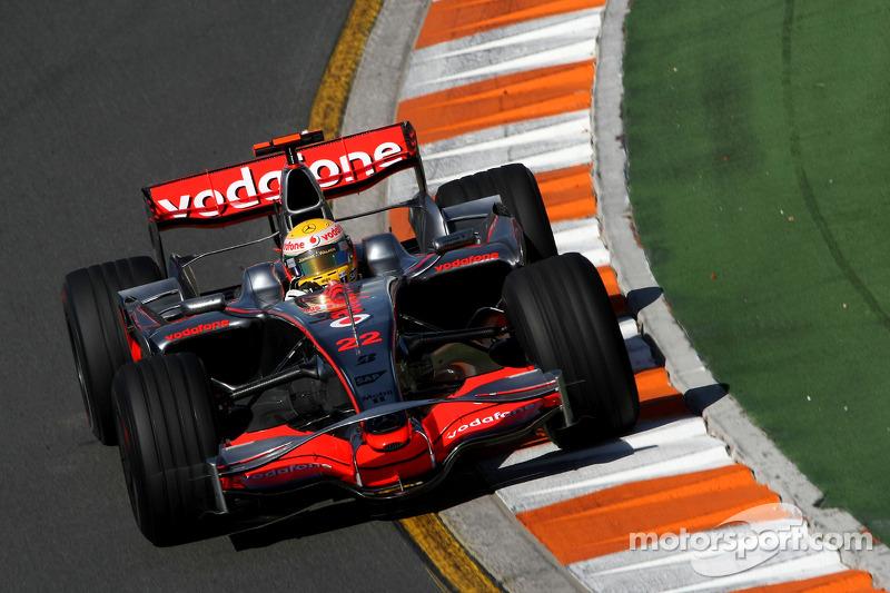 2008. Переможець: Льюіс Хемілтон, McLaren Mercedes