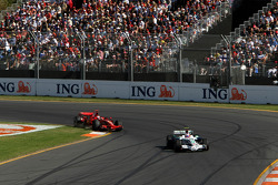 Rubens Barrichello, Honda Racing F1 Team, Kimi Raikkonen, Scuderia Ferrari