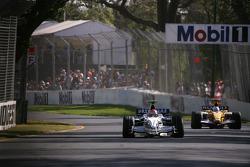 Robert Kubica, BMW Sauber F1 Team, Fernando Alonso, Renault F1 Team