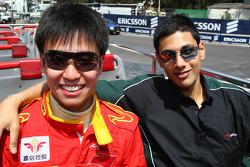 Adam Khan, pilote de A1 Equipe du Pakistan