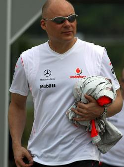 Matt Bishop Communications, McLaren Mercedes