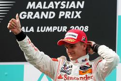 Podium: third place Heikki Kovalainen