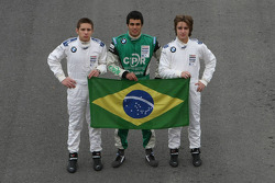 Formula BMW Europe 2008, Brazilian Drivers Group Picture