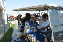 Michael McDowell leaves the infield care cente