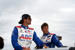Darren Manning and Marco Andretti