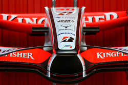 Force India front wing