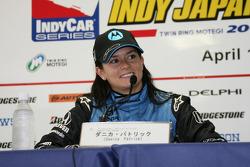 Conferencia de prensa después de la carrera: ganador de la carrera Danica Patrick