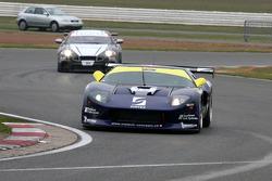 #19 Matech GT Racing Ford GT: Luca Pirri, Jurgen von Gartzen and #47 Tech 9 Motorsport Lamborghini Gallardo: Marius Ritskes, Dennis Retera