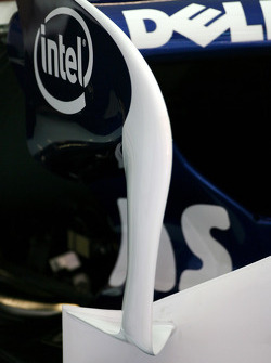BMW Sauber F1 Team, wing detail