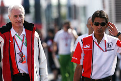 Aguri Suzuki, Super Aguri F1, Daniel Audetto, Super Aguri F1, Managing Director