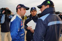 Carlos Sainz and Giniel de Villiers
