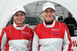 Team Fleetboard: Antonia De Roissard and Ellen Lohr