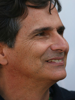 Nelson Piquet, father of Nelson A. Piquet, Renault F1 Team