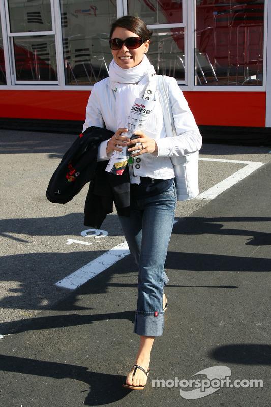Claire Bourdais, Wife od Sébastien Bourdais, Scuderia Toro Rosso