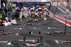 Nick Heidfeld, BMW Sauber F1 Team  during drive through