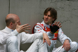 Александр Према, Audi Sport Team Phoenix, Audi A4 DTM и Маркус Винкельхок, Audi Sport Team Rosberg, Audi A4 DTM