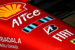 Ferrari F2008 body work detail