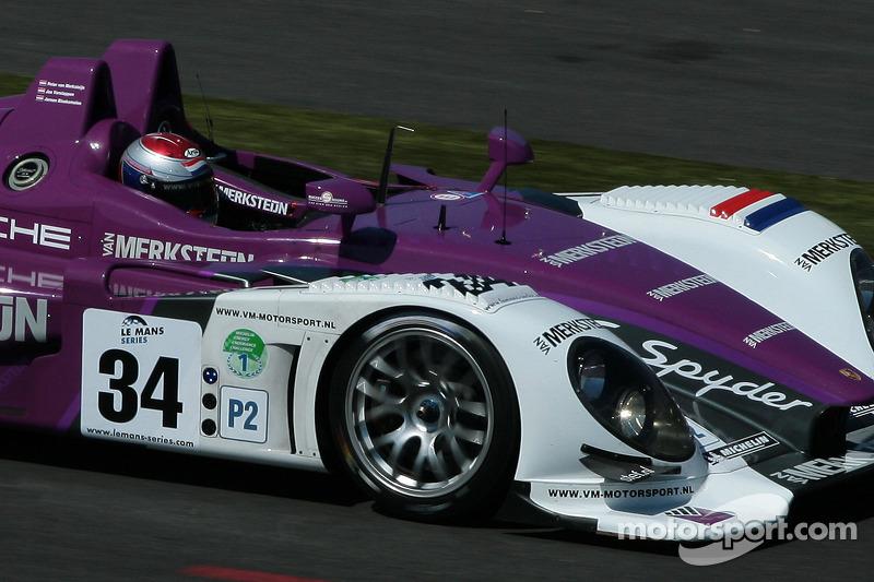 34 Van Merksteijn Motorsport Porsche Rs Spyder Jos Verstappen