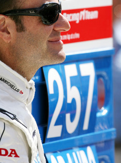 Rubens Barrichello, Honda Racing F1 Team celebrates his 257th GP