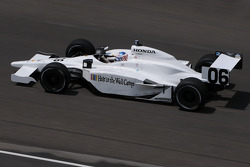 Graham Rahal on his first qualification attempt