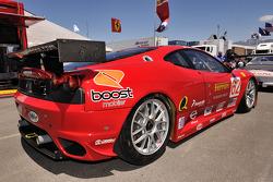 The #62 Ferrari F430 GT