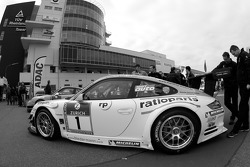 Manthey Racing Porsche 911 GT3 at technical inspection