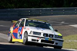 #72 BMW M3 E36: Csaba Walter, Laszlo Palik, Gabor Grigalek