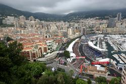 Вид на трассу Монте-Карло
