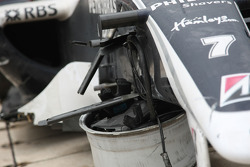 Choque de Nico Rosberg, WilliamsF1 Team, FW30